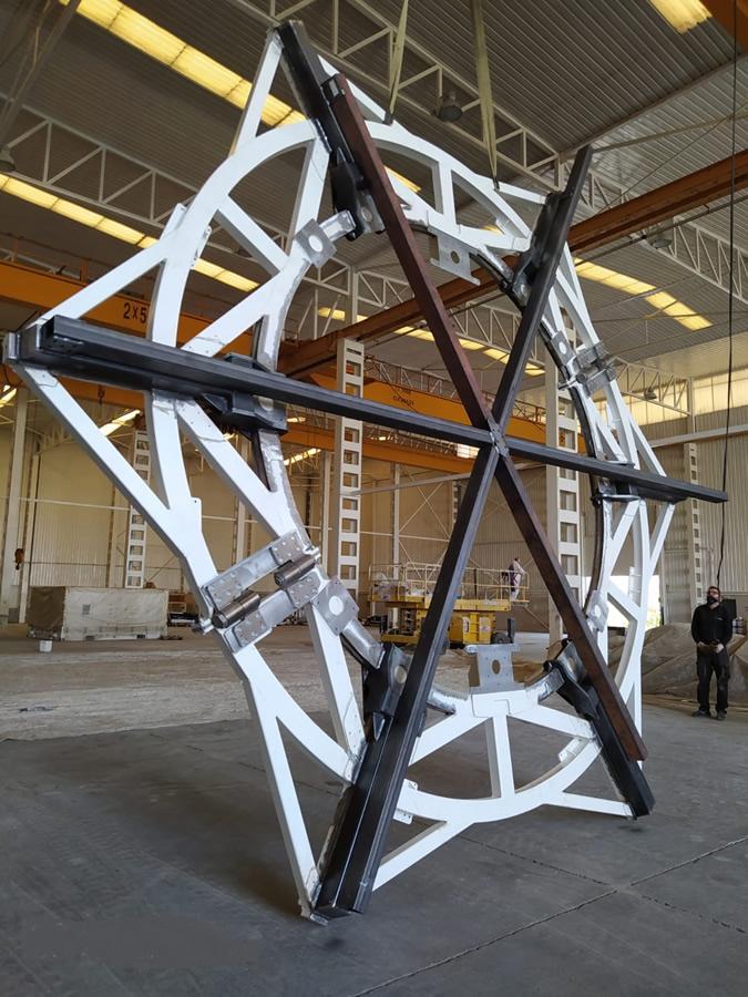 estructuras mecano soldadas